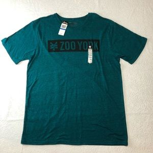 NWT Zoo York Men's Size X-Large T-Shirt Turquoise